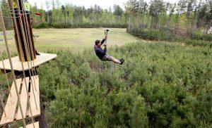 Kegiatan Akhir Tahun Menarik Taman Kota James City Country Virginia, USA
